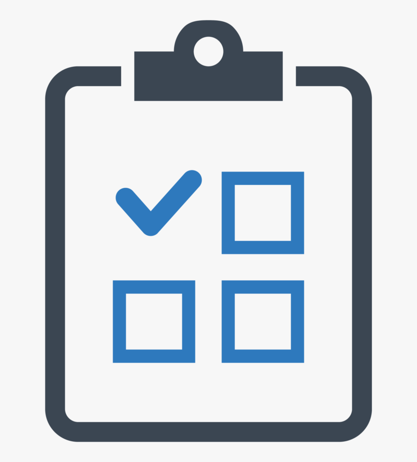 computer icons task or action checklist