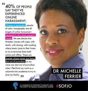 Michelle Ferrier SOFJO campaign poster
