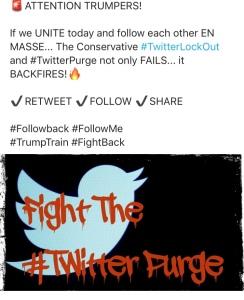 Twitter Purge Tweet