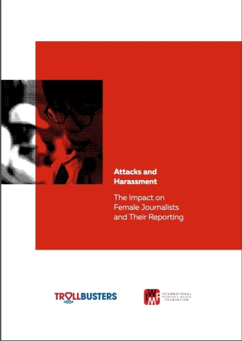 Cover of October 2018 report, Attacks and Harassment: The Impact on Female Journalists and Their Reporting